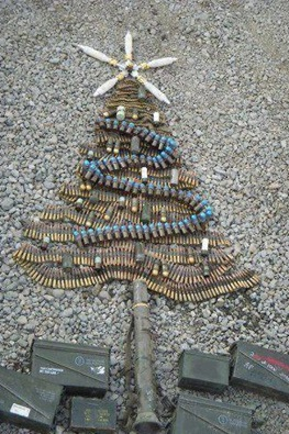 Ammunition Christmas tree